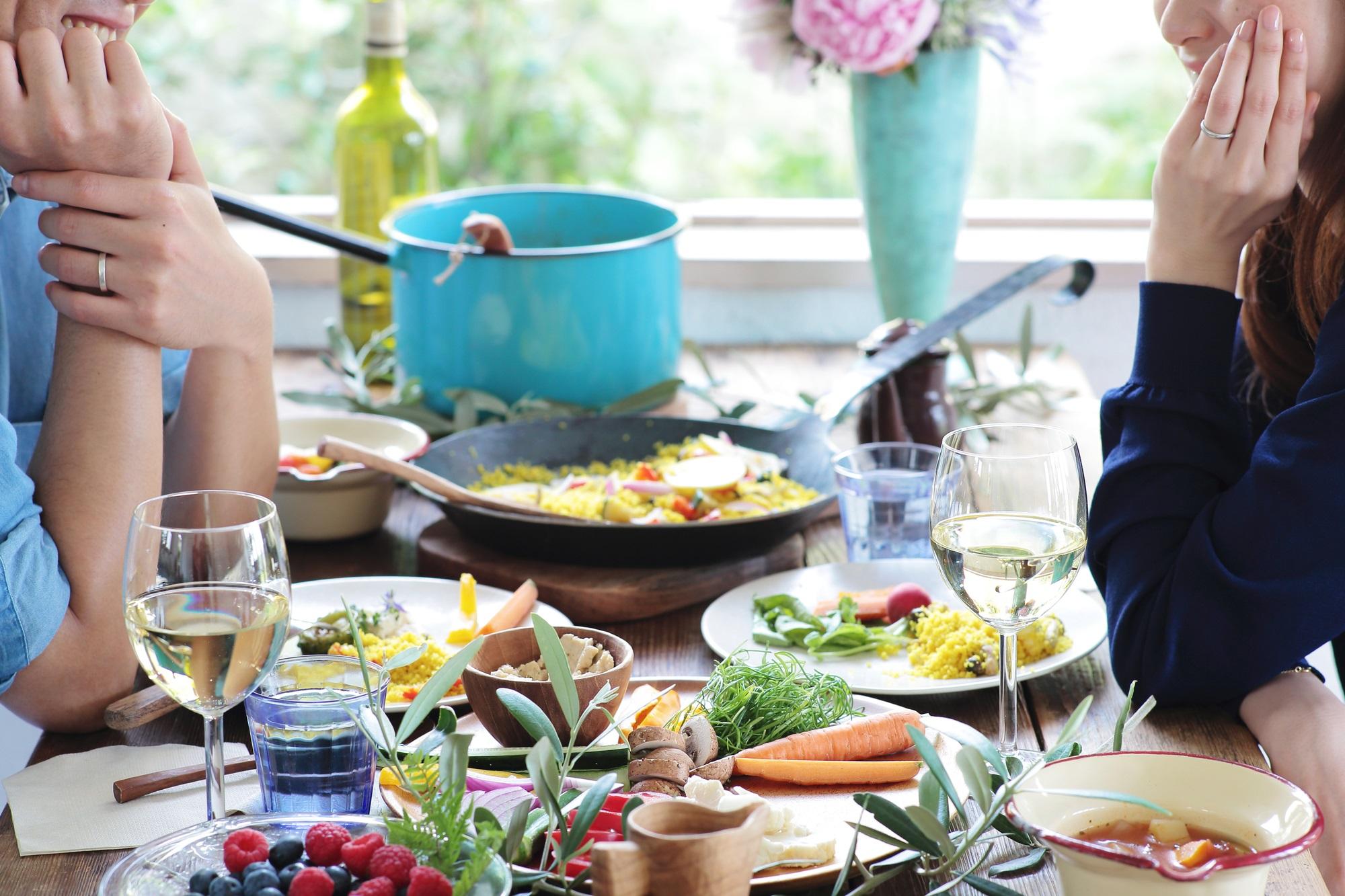 食事は家族の絆づくりにも大切!夫婦一緒の食事はしている?